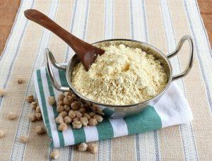 freshly-ground-chickpea-flour