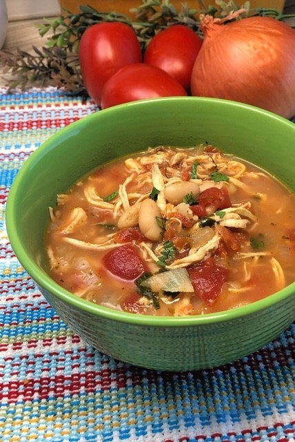 Chef Alli's Chicken and White Bean Soup
